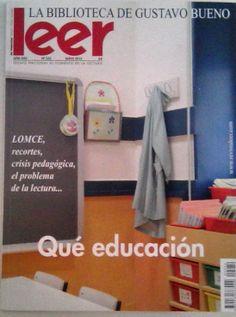"""Revista @RevistaLeer """"Que educación"""" - #educación #lectura #elglobo #leonesp #villaobispo"""