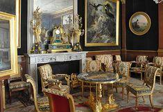 Salon doré at the Château de Malmaison, Rueil-Malmaison, Hauts-de-Seine, France - www.castlesandmanorhouses.com
