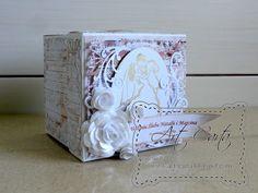 Art-Carta : Koronkowy box na ślub