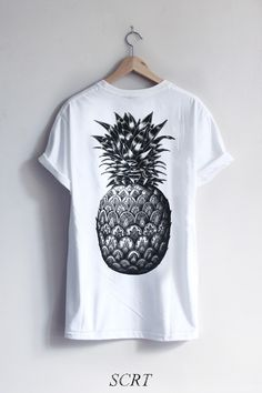 screenprint ananas.