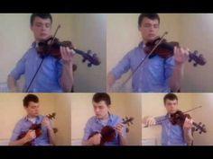 Clocks / Chicago (Coldplay / Sufjan Stevens) - Multi-Track Violin Mash-up    This is BEAUTIFUL.
