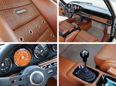 Singer Porsche 911 Interior 1480x1098 Porsche 911 by Singer Vehicle Design //