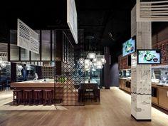 El GinYuu Stuttgart es nuevo restaurante diseñado por el estudioIppolito Fleitz.