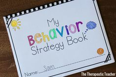 The Therapeutic Teacher: Behavior Strategy Books for ADHD Adhd Activities, Counseling Activities, Therapy Activities, Therapy Ideas, Art Therapy, Behavior Incentives, Behavior Plans, Behavior Management, Classroom Management
