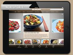 New update to my iPad app is now ready to be downloaded! Over 100 Whole30 recipes & month of Whole30 meals!