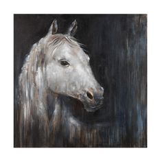 Found it at Wayfair - Mystical Horse Original Painting on Wrapped Canvas
