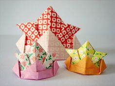 origami (samurai hats) | Flickr - Photo Sharing!