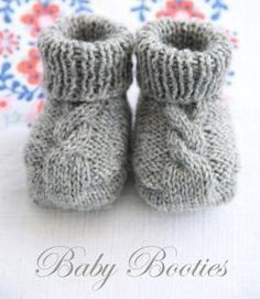 Strickanleitung Baby Booties by epipa