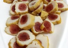Chinese Sausage Wrapped In Fish Paste Recipe -  Let's try to make Chinese Sausage Wrapped In Fish Paste in our home!