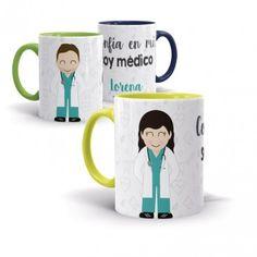 Tazas personalizadas para ENFERMERAS molonas | Miniyó&Yo