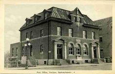 Post Office in Yorkton, Saskatchewan Saskatchewan Canada, Canadian History, O Canada, Footprints, Post Office, Back In The Day, Cities, Beautiful Places, Photographs