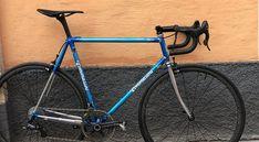 tommasini tecno close up. Velo Retro, Old Frames, Thundercats, Bike Frame, Tecno, Vintage Bikes, Road Bike, Cycling, Bicycle