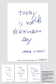 Inspring idea for World Parkinson's Day. | The 10 Smartest Ads Of May