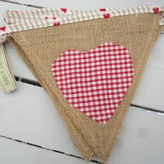 Product   Country Heart Bunting   Henry, Oscar and Me Handmade Crafts, Bunting, Pot Holders, Reusable Tote Bags, Country, Heart, Shopping, Decor, Garlands