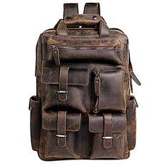 a2e1f1e6df05 $144.99 Mens Vintage Handcrafted Real Leather Laptop Backpack Utazó Hátizsák,  Laptophátizsák, Bőr Hátizsák,