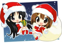 they are cute lil Santa's helpers  konpictures.me