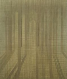 Patio de los leones I,1986 Acrílico sobre lienzo 220x186cm Colección Particular.