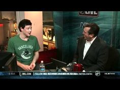 ▶ Cory Monteith - NHL Live 'hockey' interview - YouTube