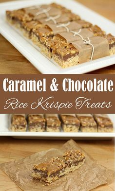 Rice Krispie Treats with Chocolate, Toasted Walnuts and Caramel – The Belleville…