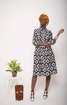 Mazel John #Ankara #Africanprint #Spring2014 #fashion
