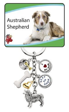 Check out the deal on Australian Shepherd Little Gifts Keychain at B.A. Barker