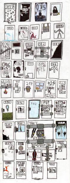 Surprise Door SCP Adoptables 1# by ECN13000.deviantart.com on @DeviantArt