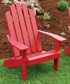 Love this Tractor Red Kennebunkport Chair on #zulily! #zulilyfinds I have 2 of these in this same color <3