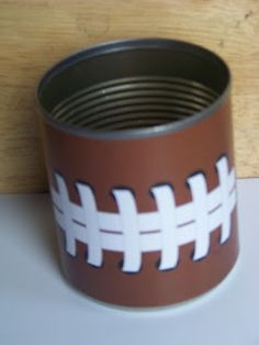 Football Party Favor printable by Kandy Kreations. A great and easy party favor to fill with your favorite treats.