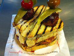 Triple Play Sandwich - Reno Aces  #baseball  www.draftkings.com