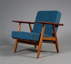 Hans Wegner armchair, teak