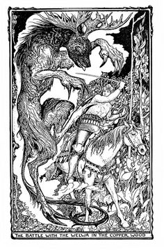 The Fairy of the Dawn - The Violet Fairy Book by Andrew Lang, illustrated by H.J. Ford, 1901