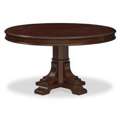 Vienna Round Dining Table - Merlot