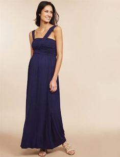 c66c13d5f8083 Cross Front Maternity Maxi Dress - L Maternity Dresses, Maternity Fashion, Maternity  Style,