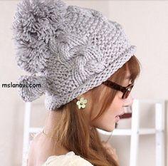 Какие вязаные шапки в моде? | Вяжем с Ланой  ПОДБОРКА http://mslanavi.com/2014/02/kakie-vyazanye-shapki-v-mode/