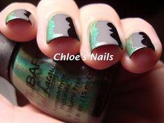 Scalloped manicure