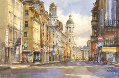 Натюрморты и пейзажи Сергея Алексеева (20 работ)