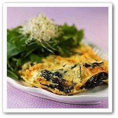 Go Veggie, Spanakopita, Allrecipes, Quiche, Cabbage, Good Food, Food And Drink, Vegetarian, Pasta