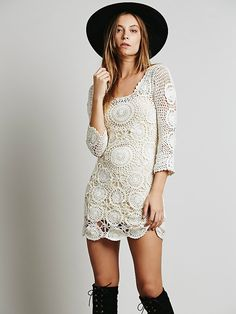Free People Havana Crochet Mini, $146.00