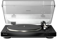 Pioneer Audiophile Stereo Turntable with Dual-Layered Chassis and Built-in Phono Equalizer The is designed from the ground up with one single goal Best Vinyl Record Player, Record Players, Vinyl Records, Platine Vinyle Audiophile, Audiophile Turntable, Vinyl Turntable, Belt Drive, Amazon Today, Electronics