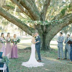 WC Bride Kelley's Dreamy Stonebridge Wedding - The White Closet Bridal White Closet, Bridesmaid Dresses, Wedding Dresses, Outdoor Ceremony, Romantic, Table Decorations, Bridal, Elegant, Photography