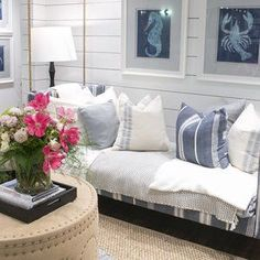 Discover the best coastal bedroom furniture sets for a beach home. Browse beach bedroom furniture sets like beds, headboards, dressers, and nightstands. Wood Bedroom Furniture, Cottage Furniture, Coastal Furniture, Furniture Ideas, Upholstered Daybed, Beach Bedroom Decor, Coastal Bedrooms, Nightstands, Dressers