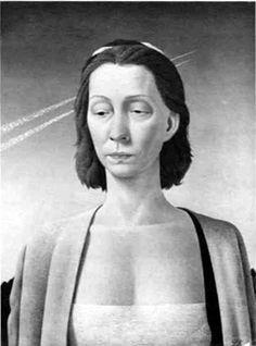 portrait 1954  Pyke Koch (magic realist mouvement)