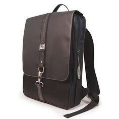 Paris Slimline Laptop Backpack.  Really nice looking.  Not rolling.  Might be too small for the mountain of stuff.
