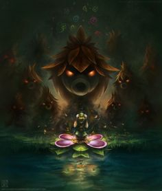 Majora's Mask: The Transformation by =uniqueLegend on deviantART