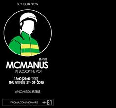 Today only 1 of Europe's finest 36 racing teams competes in the bitter cold and it's the valiant Mcmanus team .#paoma
