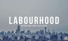 Urban English Words That Perfectly Describe Today's Modern Age - DesignTAXI.com