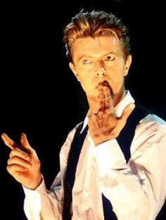 David Bowie in Sound and Vision tour