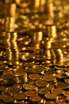 Photo about Money Towers form worthless unused hungarian coins. Image of money, treasure, coin - 14656008 Gold Coin Wallpaper, Today Gold Rate, Money Stacks, Gold Aesthetic, Gold Money, Gold And Silver Coins, Gold Bullion, Sell Gold, Gold Price