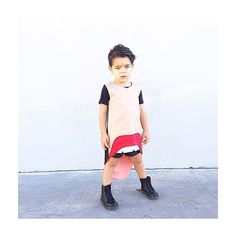 We can wear what we want and be who we want to be #jrstylekids