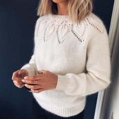 Love Knitting, Knitting Charts, Knitting Patterns, Diy Clothes, Clothes For Women, Knit Fashion, Mohair Sweater, Knitting Designs, Knitwear